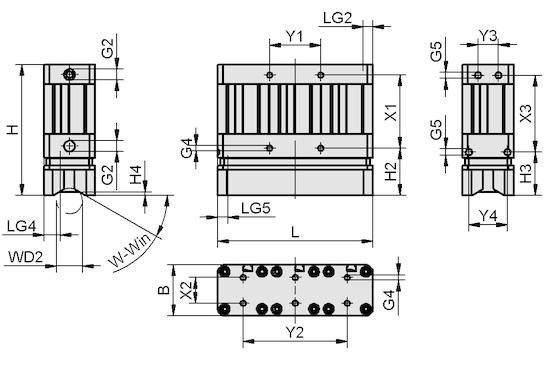 SGM-HP 40X121
