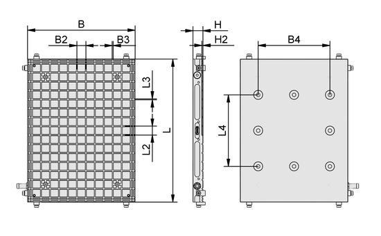 MPL 600x400x28 12.5x12.5 3x3