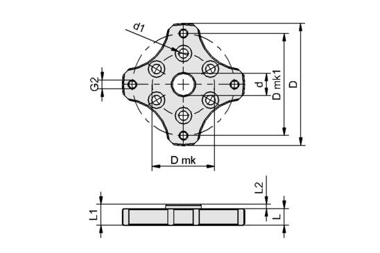 FLAN-PL 55x7.5-EL1