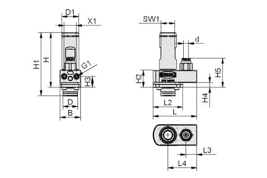 SFG 1xE100 MS AR M4-IG