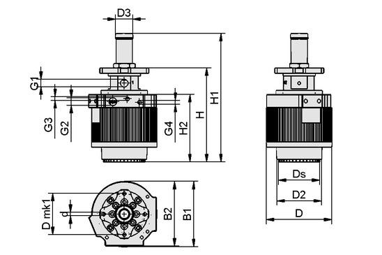 SCG-HSS 1xE100 AR 25 47