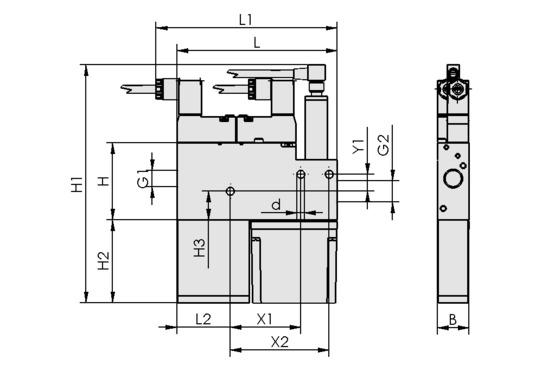 15 NC ASRD, Kompaktejektor