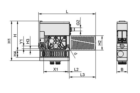 SXMPi 25 NC Q 2xM12-5
