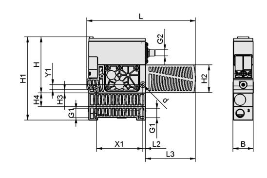 SXMPi 25 NO H PC 2xM12-5