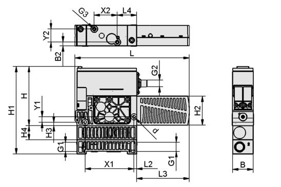 SXMPi 25 NO H M12-5