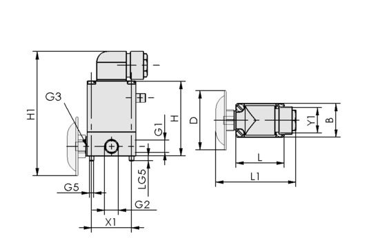 EMV 5 24V-DC 3/2 NO