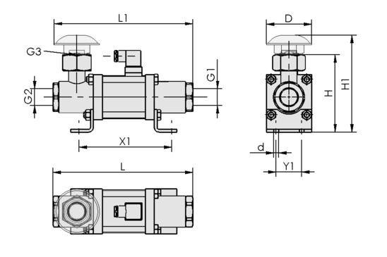 EMV 25 24V-DC 3/2 NO