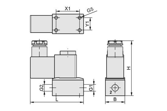 EMV 2 24V-DC 3/2 NC