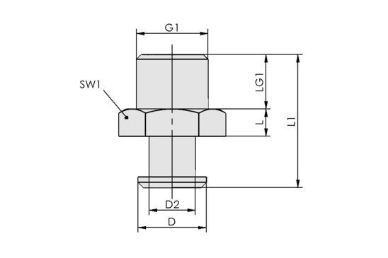 SVN G1/4-AG N018