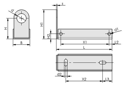 BEF-WIN 21x22x61.5 1.5 VSi-D-M8