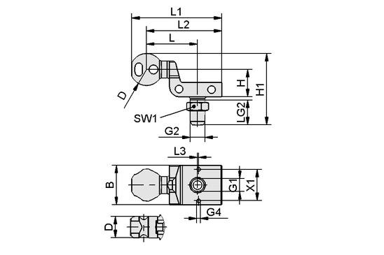 HT-SG A3 E 35 G3/8-AG