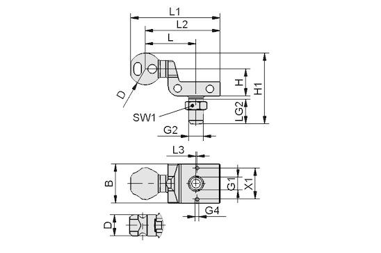 HT-SG A2 E 35 G3/8-AG