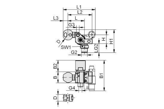 HT-SG A2 I 10 31 NPT3/8-AG AB
