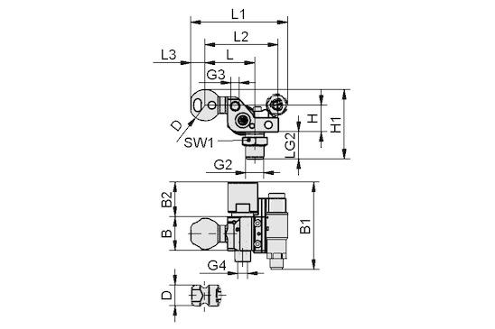 HT-SG A5 I 10 31 NPT3/8-AG AB VS