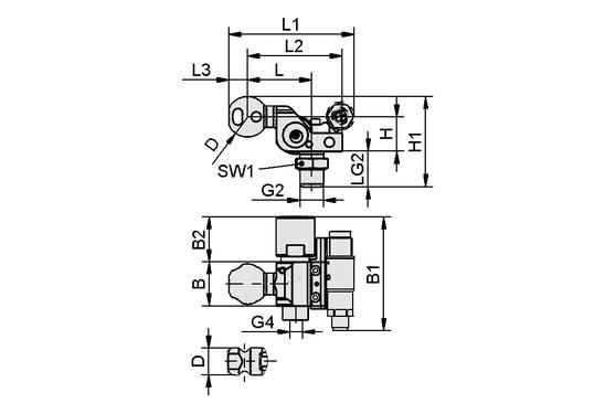 HT-SG A5 I 10 31 NPT3/8-AG AV VS