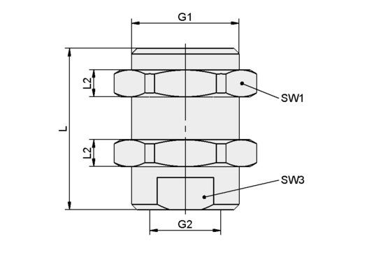 SVS-GE M16x1-AG G1/8-IG 30
