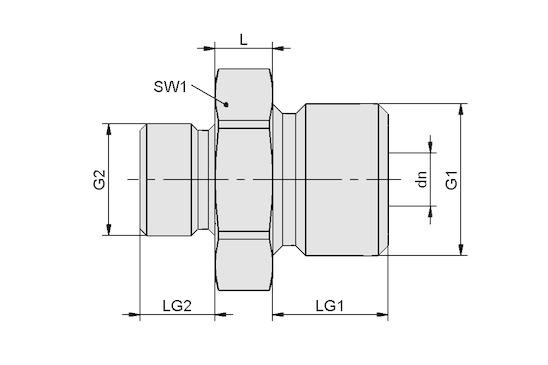 RED-NIP-S G1/2-AG G1/4-AG MS V