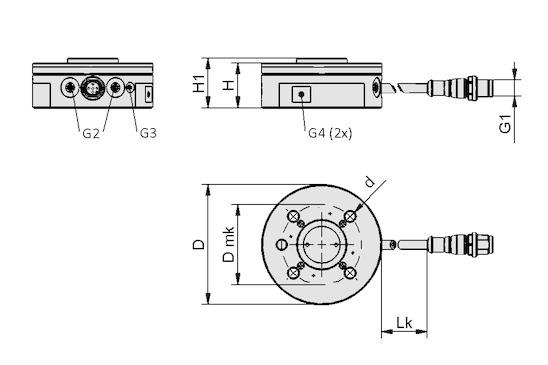 RMQC 50 UNI IOL LED-B M12-5 MATCH