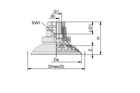 SAX 100 ED-85 G1/4-IG