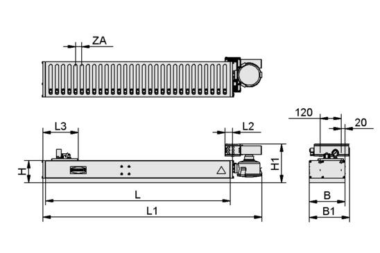 SBX-C 1250x200 35 O10O10S05 SEM-150