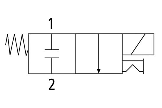 EMV 3 230V-AC 2/2 NC